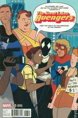 The Great Lakes Avengers Vol. 2 (Variant Covers) #3
