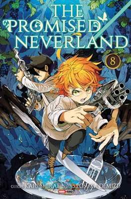 The Promised Neverland (Rústica con sobrecubierta) #8