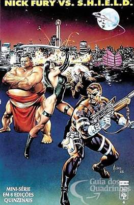 Nick Fury Vs Shield (Grapa) #4