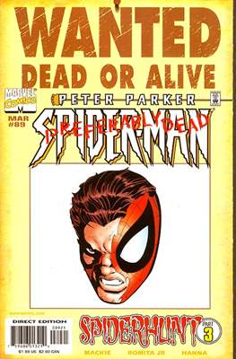 Spider-Man (Vol. 1 1990-2000 Variant Covers) (Comic Book) #89.1