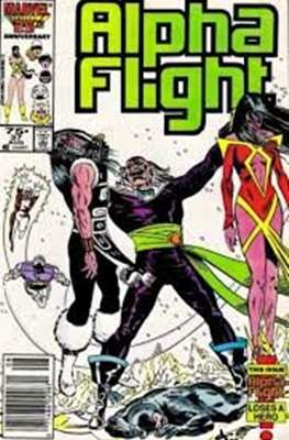 Alpha Flight Vol. 1 (1983-1994) (Comic Book) #37
