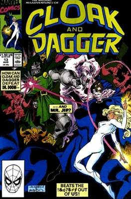 Cloak and Dagger Vol. 3 (1988-1991) (Comic-book.) #13