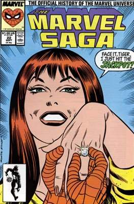 Marvel Saga (Comic-book.) #22