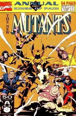The New Mutants Annual (Grapa) #7