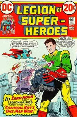 Legion of Super-Heroes Vol. 1 (1973) #4