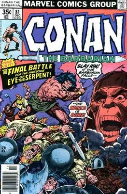 Conan The Barbarian (1970-1993) (Comic Book 32 pp) #81