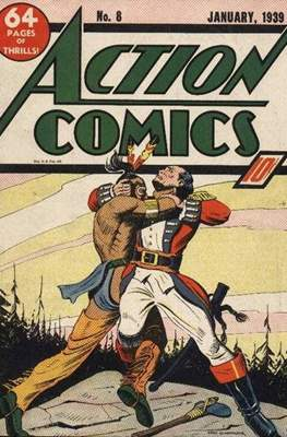 Action Comics Vol. 1 (1938-2011; 2016-) (Comic Book) #8