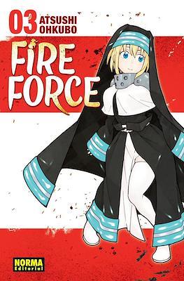 Fire Force (Rústica con sobrecubierta) #3