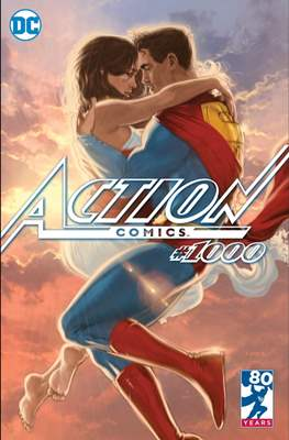 Action Comics Vol. 1 (1938-2011; 2016-... Variant Covers) (Comic Book) #1000.12