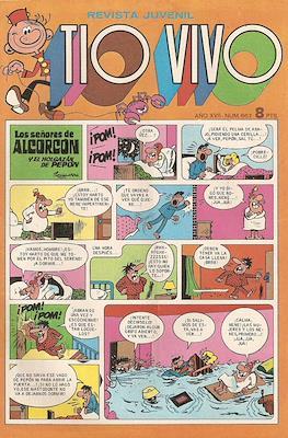 Tio Vivo. 2ª época (1961-1981) (Grapa) #667
