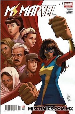 Ms. Marvel (2016-2017) (Grapa) #18