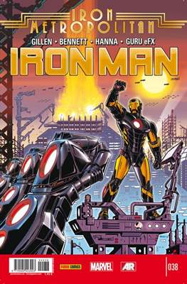 El Invencible Iron Man Vol. 2 (2011-) (Grapa - Rústica) #38