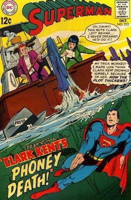 Superman Vol. 1 / Adventures of Superman Vol. 1 (1939-2011) (Comic Book) #210