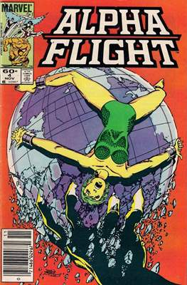 Alpha Flight Vol. 1 (1983-1994) #4