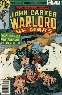 John Carter Warlord of Mars Vol 1 (Comic-book.) #22