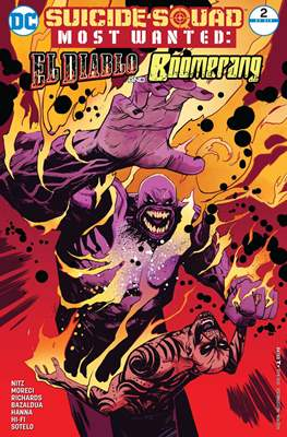 Suicide Squad Most Wanted: El Diablo and Boomerang/Killer Croc/Amanda Waller (Comic Book) #2