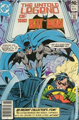 The Untold Legend of the Batman (Grapa) #2