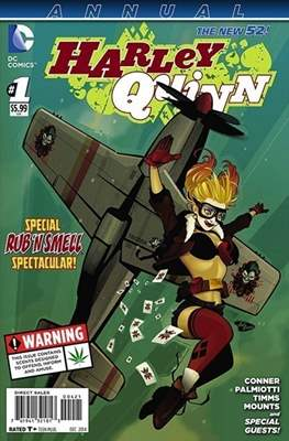 Harley Quinn Annual (2013 - Variant Cover)