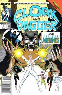 Cloak and Dagger Vol. 3 (1988-1991) (Comic-book.) #4