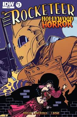 The Rocketeer: Hollywood Horror (Comic-book) #3