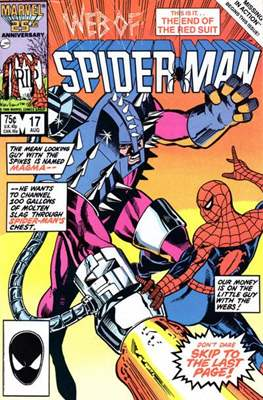 Web of Spider-Man Vol. 1 (1985-1995) (Comic-book) #17