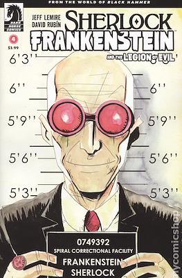 Sherlock Frankenstein and the Legion of Evil (Variant Covers) (Comic-book) #4