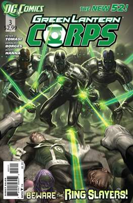 Green Lantern Corps Vol. 3 (2011-2015) #3
