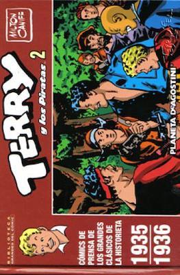 Terry y los Piratas. Biblioteca Grandes del Cómic #2