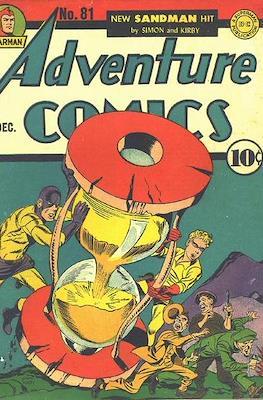 New Comics / New Adventure Comics / Adventure Comics (1935-1983; 2009-2011) (Saddle-Stitched) #81