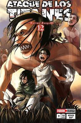 Ataque de los Titanes #12
