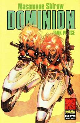 Dominion. Tank police (Rústica, 48 páginas) #2