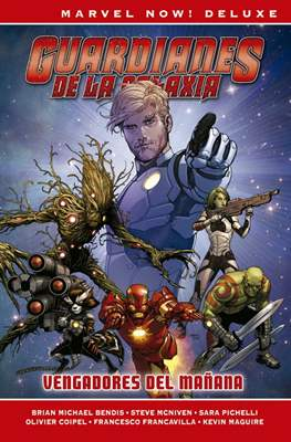 Guardianes de la Galaxia. Marvel Now! Deluxe (Cartoné 320 pp) #1