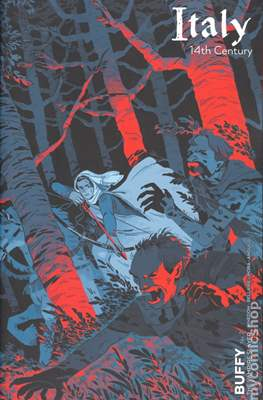 Buffy The Vampire Slayer (2019- Variant Cover) (Comic Book 32 pp) #2.1