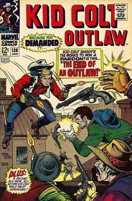 Kid Colt Outlaw Vol 1 #138