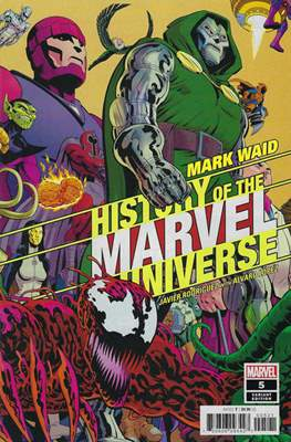 History of the Marvel Universe (Variant Cover) (Comic Book) #5