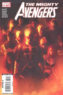 The Mighty Avengers Vol. 1 (2007-2010) (Comic-book) #31