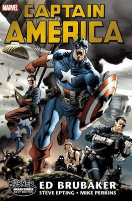 Captain America by Ed Brubaker (Hardcover 720 pp) #1