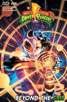 Mighty Morphin Power Rangers (Comic Book) #36