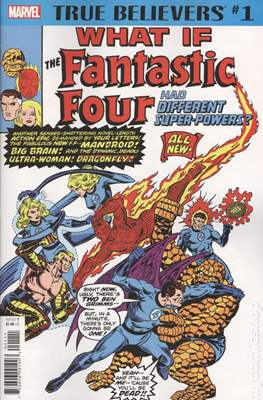 True Believers What If The Fantastic Four Had Different Super-Powers