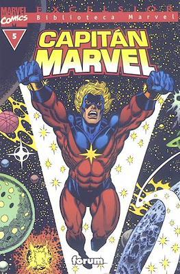 Biblioteca Marvel: Capitán Marvel (2002) (Rústica 160 pp) #5