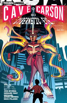 Cave Carson Has a Cybernetic Eye (Softcover 176-160 pp) #2