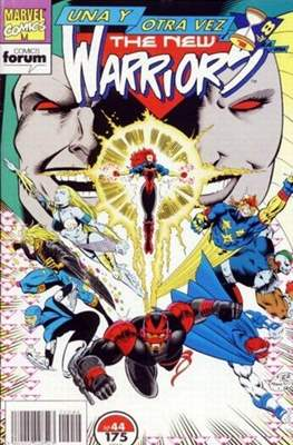 The New Warriors vol. 1 (1991-1995) (Grapa. 17x26. 24 páginas. Color. (1991-1995).) #44