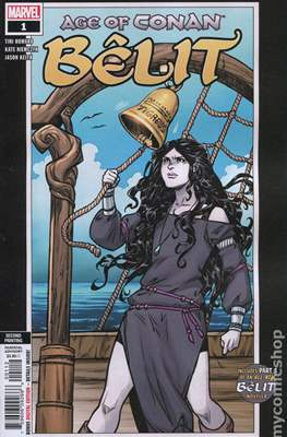 Age Of Conan: Bêlit (2019- Variant Cover) (Comic Book) #1.3