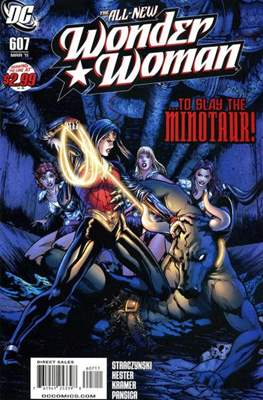 Wonder Woman Vol. 3 (2006-2011) (Comic Book) #607