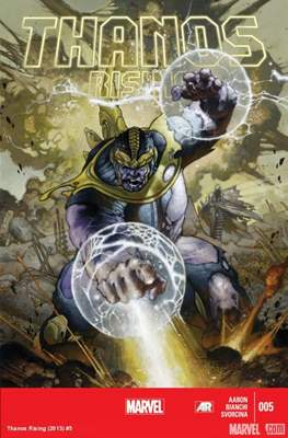 Thanos Rising (Comic Book) #5