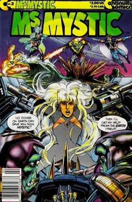 Ms. Mystic (1987-1992) (Grapa) #2