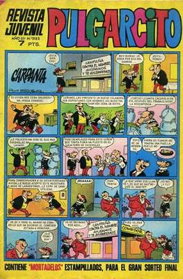 Pulgarcito (1946-1981 5ª y 6ª época) (Grapa, 16-32 páginas) #2152