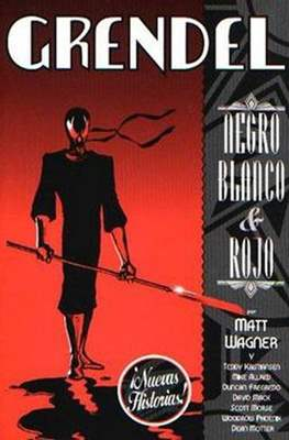 Grendel. Negro, blanco y rojo #2