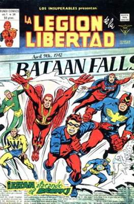 Los insuperables presentan v.1 (1978) #34