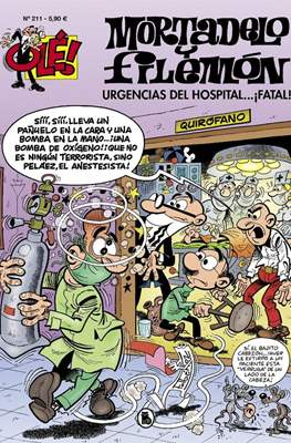 Mortadelo y Filemón. OLÉ! (1993 - ) (Rústica, portadas en relieve) #211